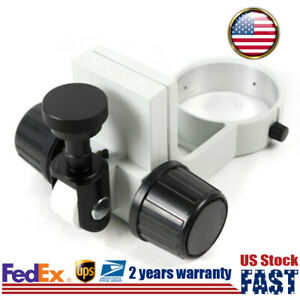 Industrial Stereo Microscope Focus Adjustment Arm Holder Bracket Stand Ring 76mm
