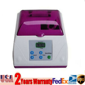 Hl ah G8 Dental Amalgam Capsule Mixer Blending High Speed Amalgamator 110v 60hz