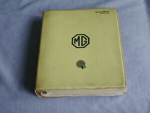Rare Bmc Dealer Only Service Bulletins Mga Twin Cam Mg Magnette Midget Mgb