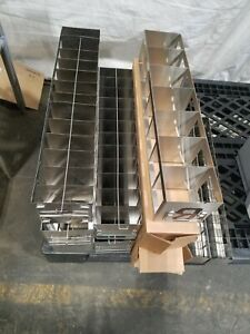Cell Bank Stainless Steel Stack Trays Racks Pharmaceutical One Price For All