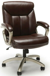 Executive Office Task Chair With Arms Brown Ofm Ess 6020