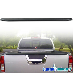 For 2013 2018 Nissan Frontier Tailgate Molding Spoiler Outer Protector Top Cover