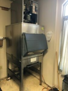 Hoshizaki F 801maj Flake Ice Machine And Follett Ice Transport System its700sg 3