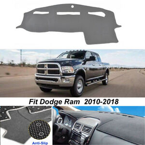 Dash Mat For Dodge Ram 1500 2500 3500 2011 2016 Anti slip Dashboard Cover Black