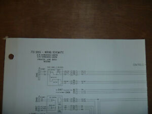 Bobcat 773 Boss Skid Steer Electrical Wiring Diagram Schematic Manual 509635001