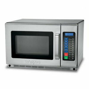 Waring Wmo120 1800w Commercial Microwave W Touch Pad 208 230v
