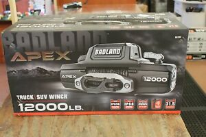 Badland Apex 56385 Synthetic Rope12 000 Lbs Wireless Winch
