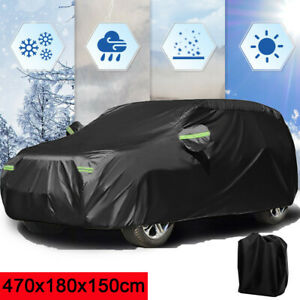 Large Oxford Full Car Cover Waterproof Rain Resistant Protection For Ford Focus
