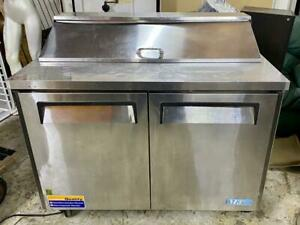Turbo Air Mst 48 M3 Series Sandwich Salad Prep Table Good Working Condition