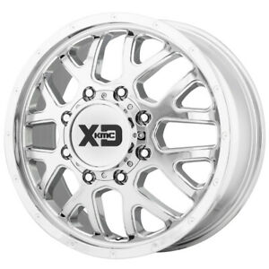 Xd843 Grenade Dually Front 17x6 5 8x200 111mm Chrome Wheel Rim 17 Inch