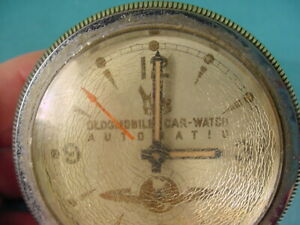 1951 1952 Oldsmobile Car watch Automatic Steering Wheel Clock Original Gm