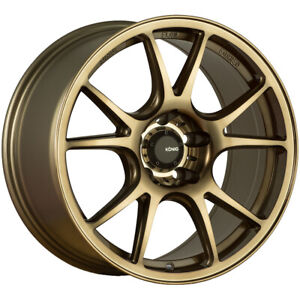 Konig 100bz Freeform 19x10 5 5x4 5 18mm Bronze Wheel Rim 19 Inch