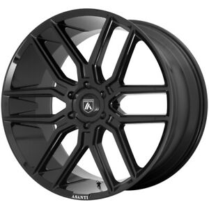 4 asanti Abl 28 Baron 20x9 6x5 5 30mm Gloss Black Wheels Rims 20 Inch