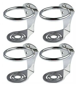 4pcs Boat Ring Cup Drink Holder For Marine Yacht Truck Rv Camper Stainless Steel