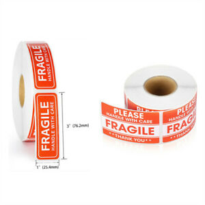 Fragile Label Stickers Handle With Care Thank You Warning Signs For Package Tags