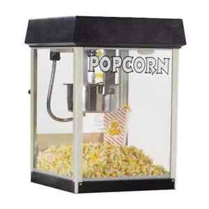 Global Solutions Gs1504 Popcorn Machine W 4 Oz Kettle Stainless Steel 120v