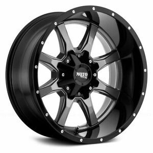 20x9 Moto Metal Mo970 Black Wheels Rims 33 At Tires 6x135 Ford F150 Expedition