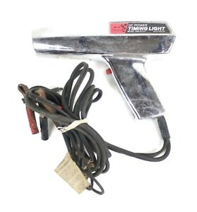 Vintage Sears Dc Powered 6 12v Timing Light Model 244 21171 Parts Only
