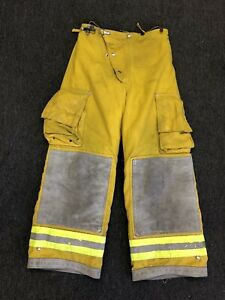 Cairns Turnout Gear Firefighter Fire Pants Nomex Quilted Costume Size 30 W X 28