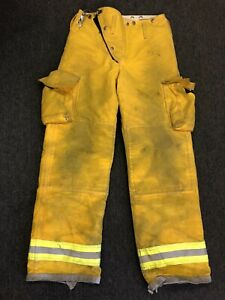 Globe Turnout Gear Firefighter Fire Pants Nomex Quilted Costume Size 30 W X 32