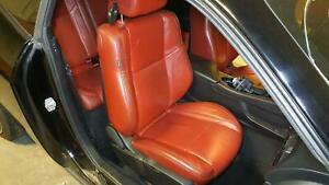 Dodge Challenger Passenger Front Seat Air Bag Red Leather Manual 2015 17