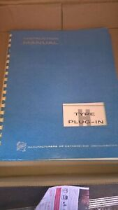 Tektronix Type H Plug in Instruction Manual
