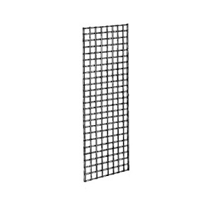 Econoco Commercial Grid Panels 2 Width X 5 Height Black Pack Of 3