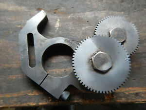 Older Change Gear Bracket Gears For A Lathe Maybe Other Machine English Metric