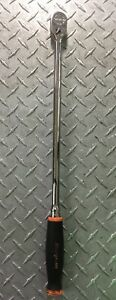 Snap On 3 8 Drive Dual 80 Technology Soft Grip Extra Long Handle Ratchet Fhll80