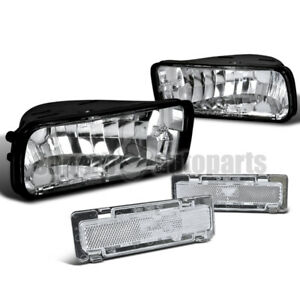 For 1985 1992 Chevy Camaro Bumper Lights Depo side Marker Signal Lamps