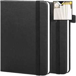2 Pack Pocket Notebook Journal Notepad 3 5 X 5 5 Ruled lined Small Hardcover M