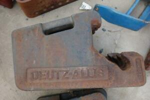 Deutz allis 56 Lb Tractor Suitcase Weights Part 6710290 Fits Many Models
