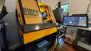 Emco 6p Cnc Lathe With Dmm Servos Centroid Acorn Touch Screen