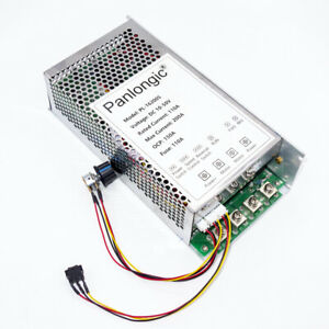 200a Reversible Dc Motor Speed Controller Pwm Control Soft Start 10000w 10 50vdc