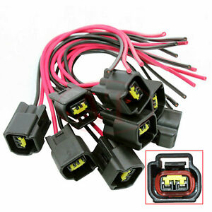 8 Modular Ignition Coil Connector For 4 6 5 4 6 8 Ford F 150 Mustang Pigtails