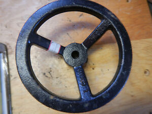 Large Cast Iron Handwheel For A Machine Jig Fixture 5 8 Bore