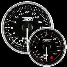 Prosport Universal 52mm Supreme Electrical Boost Gauge 30 To 45 Psi
