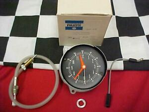 68 69 Plymouth Barracuda Clock New With Box