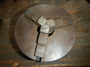 Older L w Lw Chuck 3 Jaw Chuck For Metal Lathe 1 1 2 8 Mount