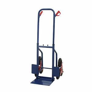 New 440lbs Heavy Duty Stair Climbing Moving Dolly Hand Truck Warehouse Cart Blue