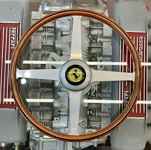 Hawthorn Collins Replica 4 Spoke Ferrari Vintage Steering Wheel
