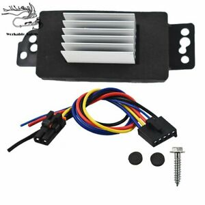 Heater Blower Motor Resistor W Harness Fit For Chevrolet Impala Monte Carlo