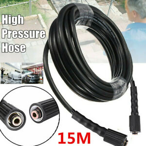 50ft 3200 Psi High Pressure Washer Hose M22 Connector Replacement Hose Us