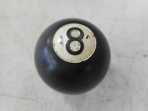 Vintage Billiards Eight 8 Ball Gear Shift Knob Ratrod Ford Mopar Chevy