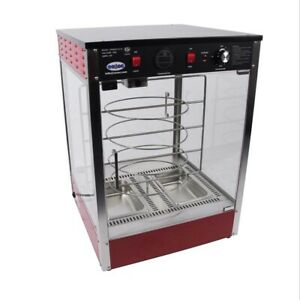 Cozoc Pw5002 10 18 21 Countertop Hot Food Display Case Concession Pizza Warmer