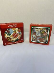 Coca Cola Coasters-2 Sets