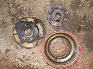 Ford 8n Tractor Original Brake Assembly Hub Pad Outer Wheel Holder