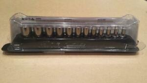 Snap On 12 Pc 1 4 Drive 6 point Flank Drive Semi deep Metric Socket Set 5 15 3
