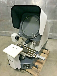 Mitutoyo Ph 350 Optical Comparator Profile Projector X50 Lenses Made In Japan