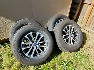 2019 Ford F150 Xlt Fx4 Wheel Tires Oem 7 500 Miles Machined Painted